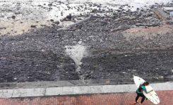 ¿Habrá afectado a la dinámica de la arena el retranqueo del paseo, donde la pasarela?