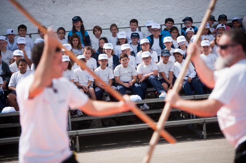 """Este miércoles más de 600 escolares participarán en Las Canteras en el primer certamen """"Tamarán 2018"""" de juegos tradicionales"""