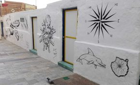 Nuevos graffitis en Los Nidillos