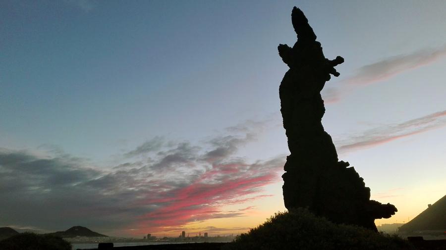 """El Gobierno de Canarias declara Bien de Interés Cultural (BIC) la escultura """"El Atlante"""""""
