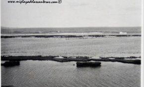 La Playa Chica a finales de los años 40