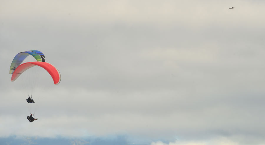 Volando sobre Las Canteras