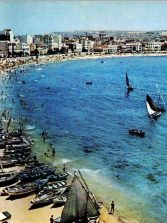 Los barquillos de vela latina salen a regatear