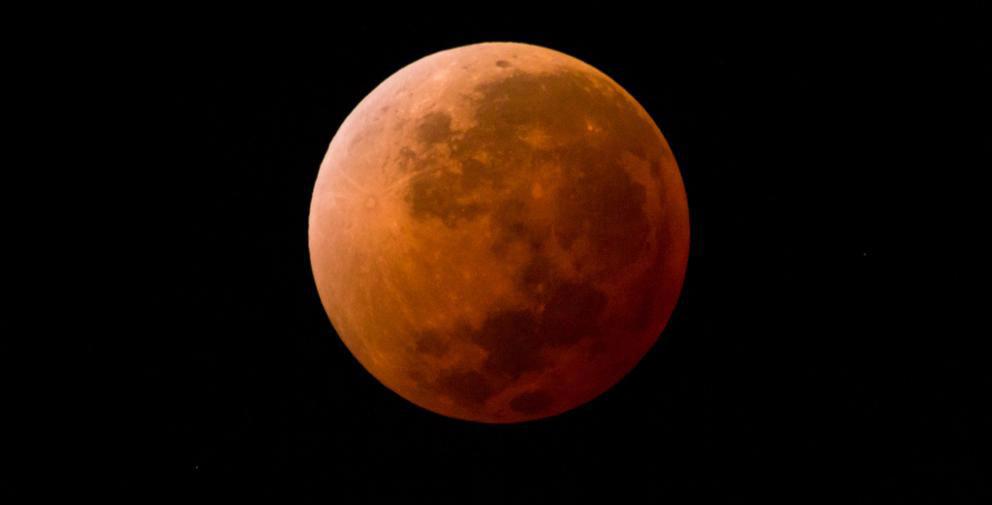'Luna de sangre' el eclipse lunar más largo del siglo XXI se podrá ver este viernes 27 de julio