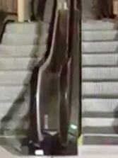 La escalera mecánica de la Cicer en funcionamiento #video