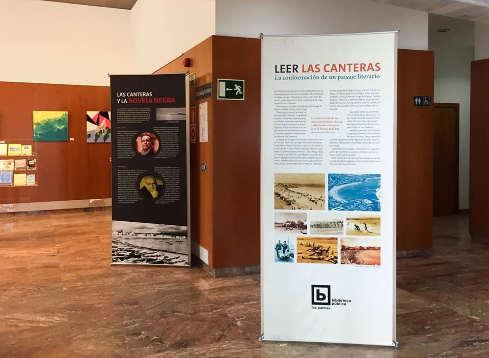 Exposición Leer Las Canteras en la Biblioteca Pública: La conformación de un paisaje literario