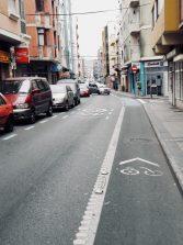 El peligro de los carriles bici