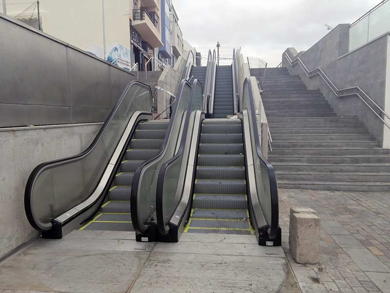 La escalera mecánica pendiente de Endesa