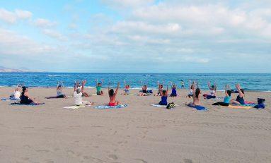 Yoga en Las Canteras