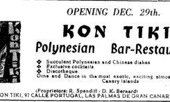 El legendario local Kon Tiki