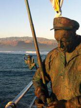 Códigos QR para las estatuas de Las Canteras