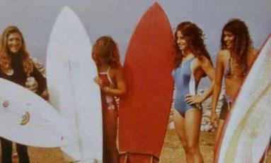 María Acosta Baz, una histórica surfera de la Cicer
