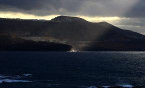 Un rayo de luz en punta del Morro