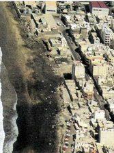 La playa de Guanarteme a finales del siglo XX