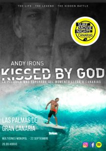 "Surf Movie Night Canarias trae a Canarias ""Andy Irons: Kissed by God"""
