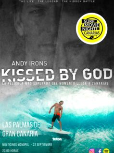 """Surf Movie Night Canarias trae a Canarias """"Andy Irons: Kissed by God"""""""