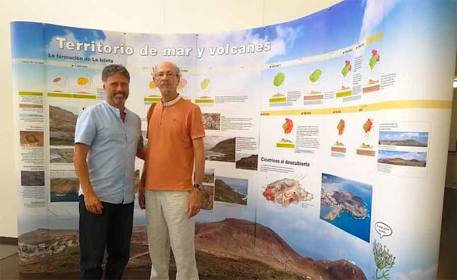 El Patio del Cabildo muestra los valores naturales de La Isleta en una exposición que permanecerá hasta finales de mes
