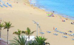 Vista aérea de la Playa Grande