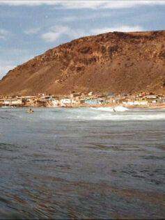 Surfeando en El Confital de los años 90