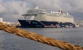 Cinco cruceros llegan a Las Palmas de Gran Canaria durante el Puente del Pilar