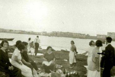 De picnic en la Barra Grande