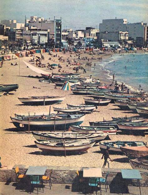 La Playa Grande hace 60 años
