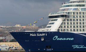 Póker de cruceros en Las Palmas de Gran Canaria en el fin de semana