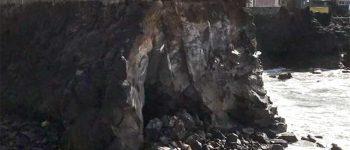 Cerrado el acceso al monumento de las víctimas del Spanair JK5022 en Los Nidillos por desprendimientos