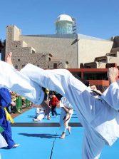 Las promesas canarias de la artes marcialestoman la Plaza de la Música