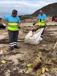 El Club Deportivo Confite hace un llamamiento a la ciudadanía para limpiar El Confital este miércoles