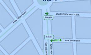 El Ayuntamiento habilita el doble sentido en la calle Barcelona para mejorar la circulación tras el cierre de Mesa y López (contenido patrocinado)