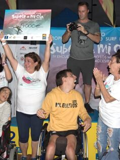 El IV Encuentro Solidario Los Muellitos Gran Canaria Accesible recauda 13.400 € a favor de la parálisis cerebral infantil