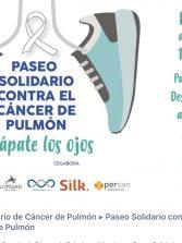 Este domingo paseo solidario por Las Canteras contra el cáncer de pulmón