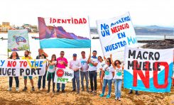 #Noalmacromuelle de Agaete desde Las Canteras
