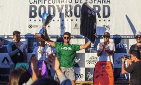 """El confitalero Kevin Orihuela con sus victorias en Cantabria y Gran Canaria no deja opción a sus rivales y se convierte en el primer campeón de """"LaLiga de Bodyboard"""""""