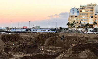 Este viernes a las 18:00 horas se abrirá al público el Belén de arena