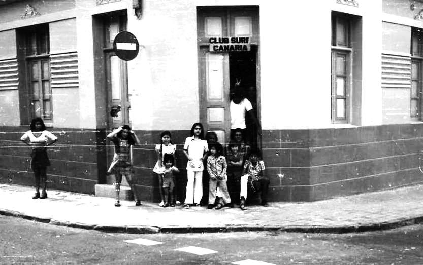 """Club de surf """"Canaria»,  primer club de Canarias"""