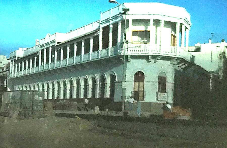 1993. Construyendo el nuevo paseo de Las Canteras