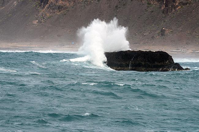 El calentamiento global aumenta la potencia de las olas