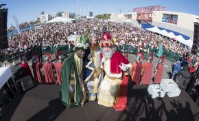 Los Reyes Magos de Oriente desembarcarán este domingo en el Muelle del Sanapú