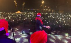 La Trova llenó Las Canteras de ilusiones navideñas
