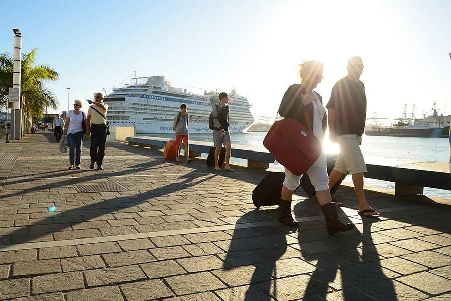 Las Palmas de Gran Canaria espera un fin de semana cargado de cruceros antes de Nochebuena