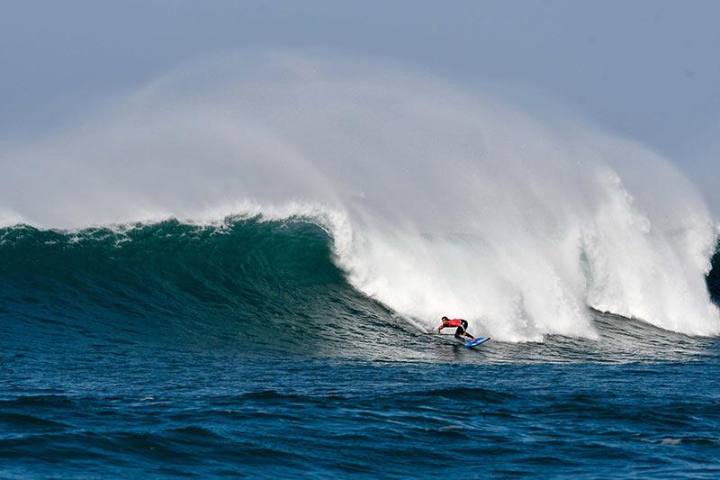 La playa de Las Canteras, escenario del Campeonato de Paddle Surf Gran Canaria Pro-Am