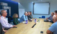 El Ayuntamiento y el colectivo de personas con diversidad funcional de Canarias abordan la accesibilidad de la MetroGuagua (contenido patrocinado)