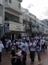 Así fue la marcha solidaria contra el Cáncer de Pulmón