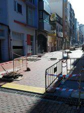 La calle California, primera calle de la Cicer en ser peatonalizada