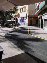 El Ayuntamiento reabre al tráfico el tramo de la Calle Grau Bassas situado junto a la Plazoleta Farray