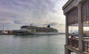 Las Palmas de Gran Canaria recibe a una docena de cruceros antes de despedir 2018