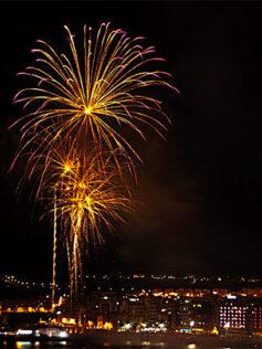 540 kilos de pólvora iluminarán la Nochevieja desde tres puntos diferentes de Las Palmas de Gran Canaria