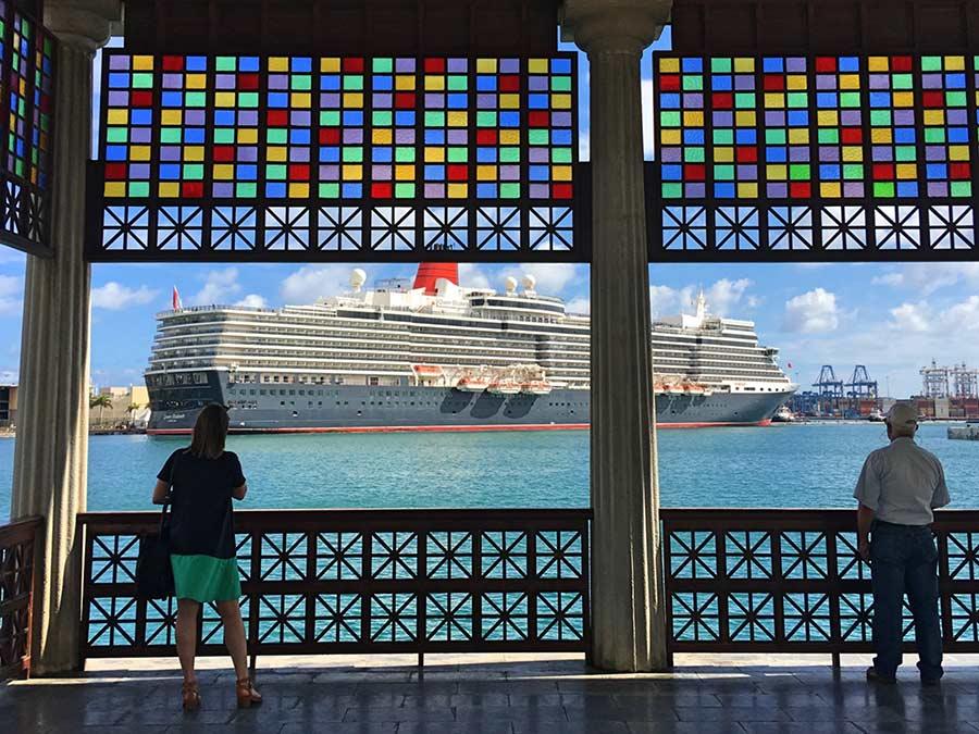 Las Palmas de Gran Canaria espera a media docena de cruceros en el puente de diciembre